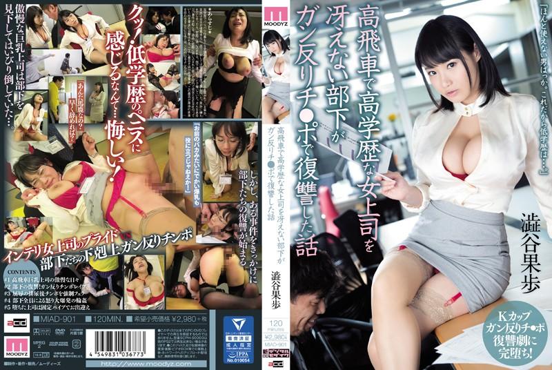 (Tanpa Sensor Bocor) MIAD-901 Bawahan Membosankan Bos Wanita Berpendidikan Tinggi… Kaho Shibuya