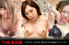 JAV HD The Undisclosed: Hand Job, Standing 69, Beauty's Ejaculation Technique! Shino Aoi, Rino Sakuragi, Ren Miyamura